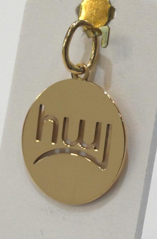 Médaille հայ en or rose 18 carats